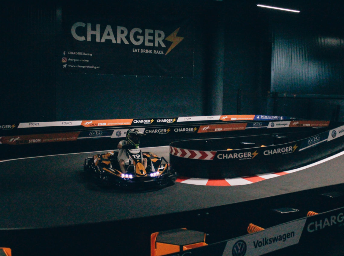 Rennstrecke Chargers Racing