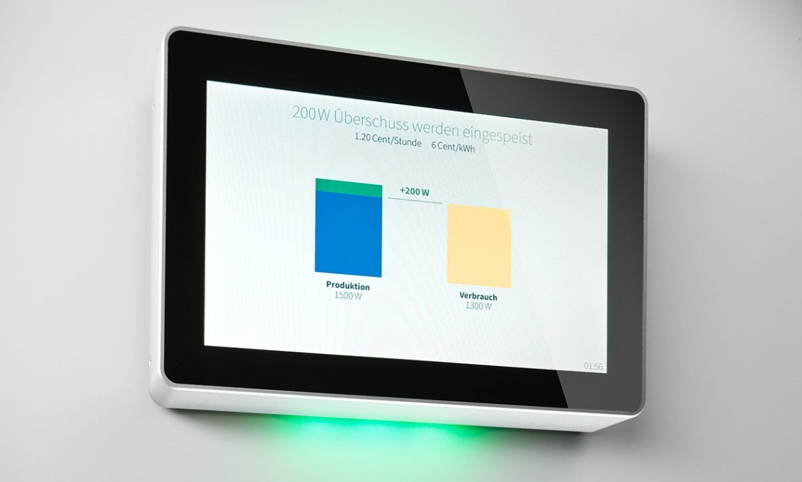 Tablet Energie Management System