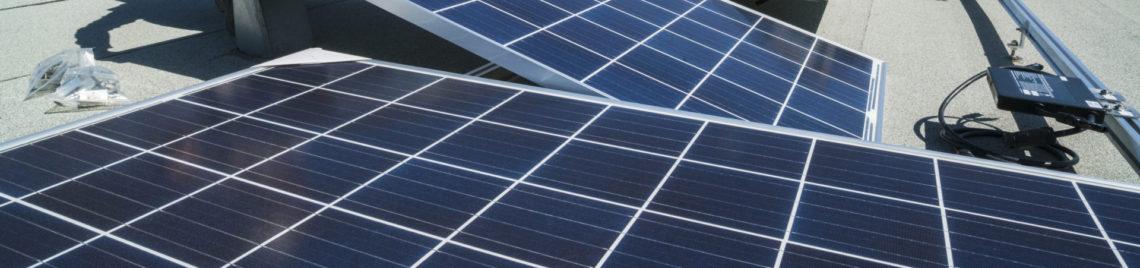 Photovoltaik Anlagen und Windkraftwerke